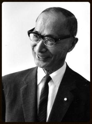 ICU's First President Dr. Hachiro Yuasa